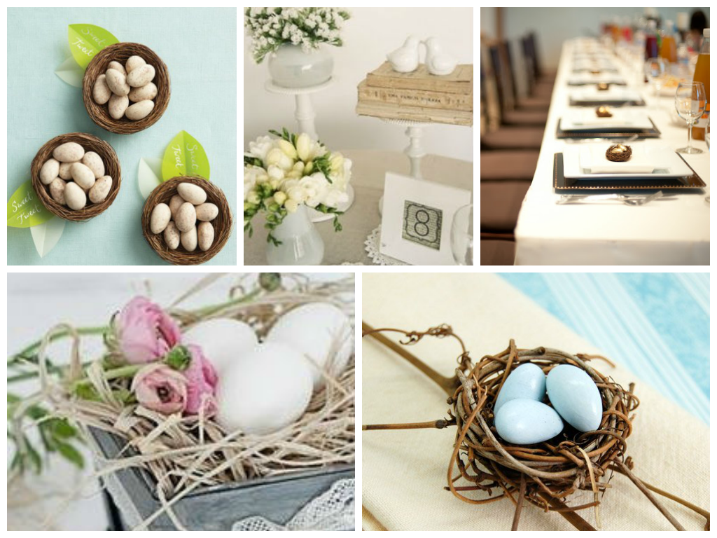 Spring & Garden Theme Favors - Wedding Favors - Bird Theme Eco ...