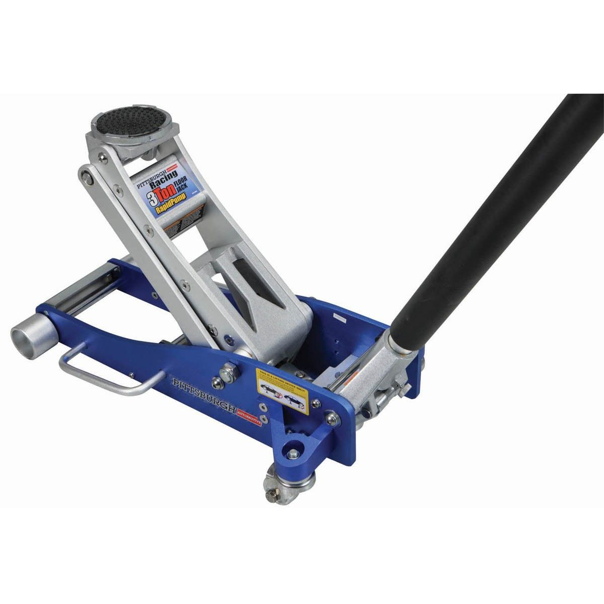 Pittsburgh Automotive 61386 3 Ton Lightweight Aluminum Racing Jack With  Rapid Pump®