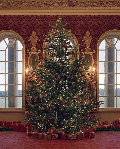 Christmas Decorations In Victorian England: Christmas Comes To Holkham Hall In Norfolk