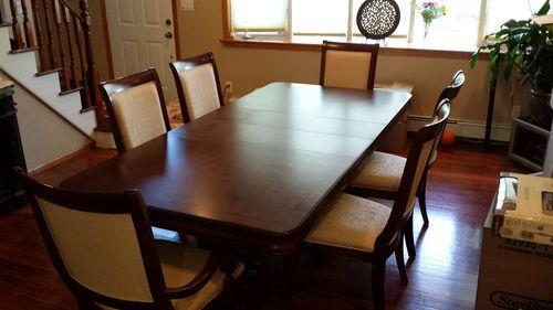 Raymour U0026 Flanigan Legacy Dining Room Set, 10pc,