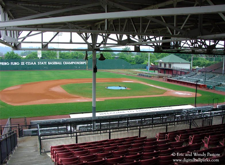 Historic Engel Stadium Chattanooga Tennessee Former Home Of The Chattanooga Lookouts Chattanooga Baseball Stadium Baseball Stadiums Pictures
