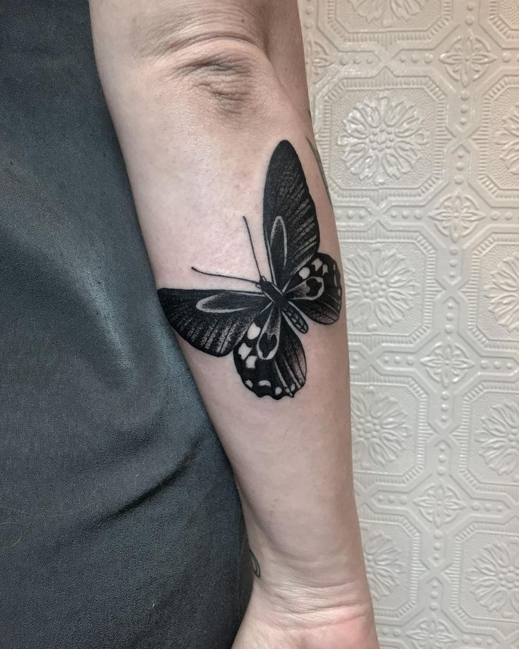 Small Acid Tattoo: Butterfly Tattoo Ideas To Represent The Transformation