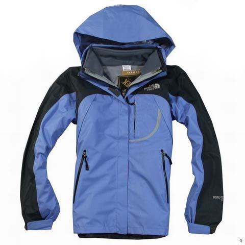 2e650b7be831 Womens The North Face Triclimate 3 In 1 Jacket Blue Korean Fashion