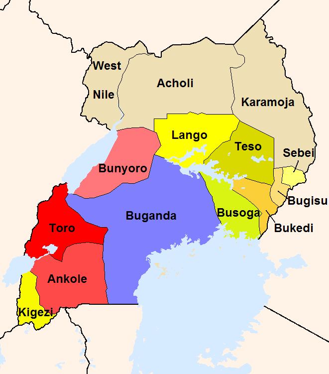 Pin by Uganda Safari Tours on Uganda Maps | Uganda, East ...
