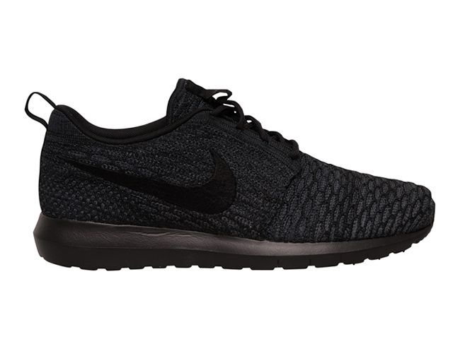 nike roshe black anthracite woven baskets