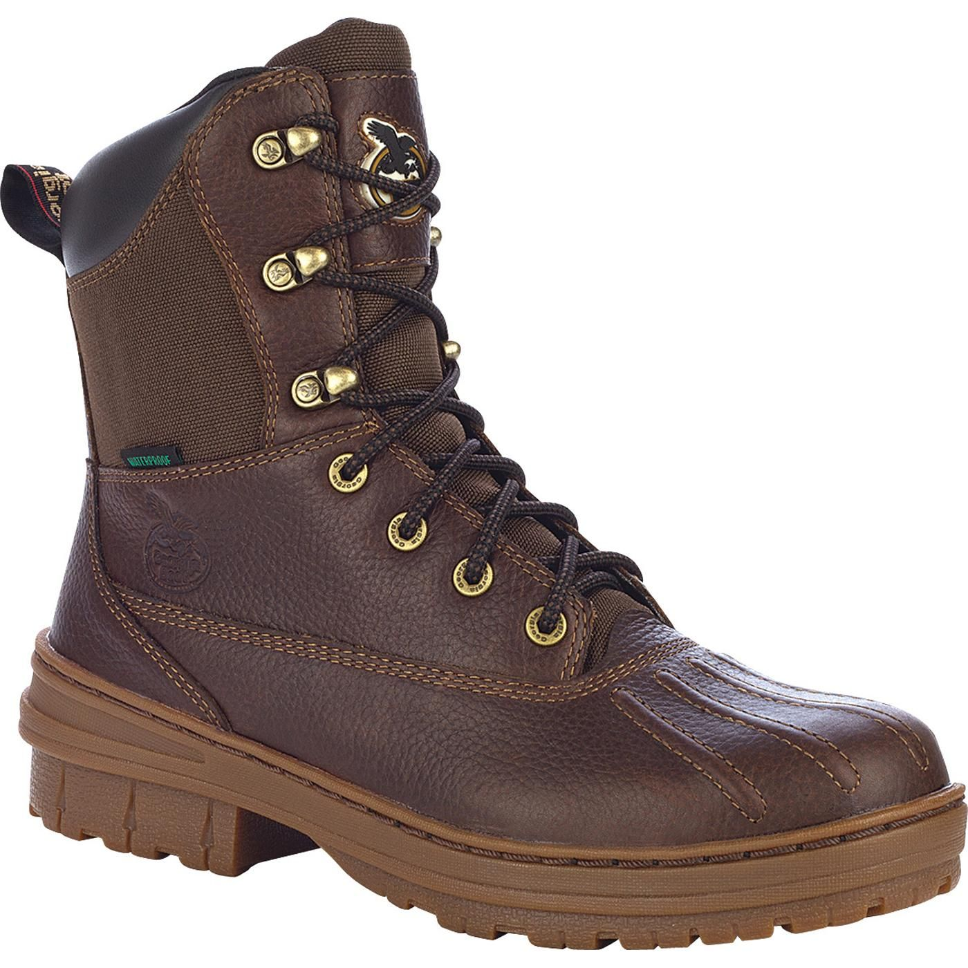 a183222d970 Channel grooves on boot's toe prevents dew and water from collecting ...