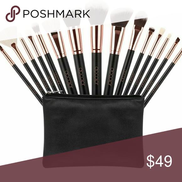 15pcs Make up brushes set High Quality Synthetic 15pcs