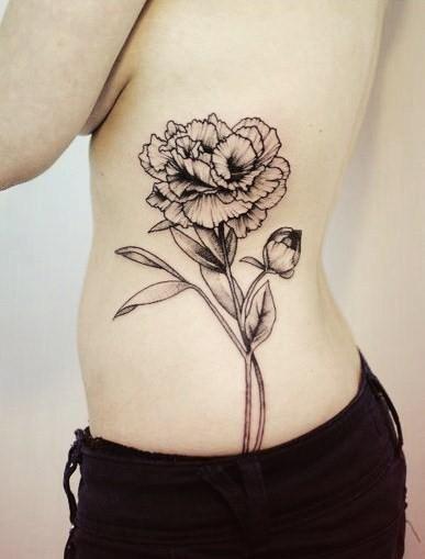 Red Carnation Spanish Heritage Tattoos Pinterest Tatouage