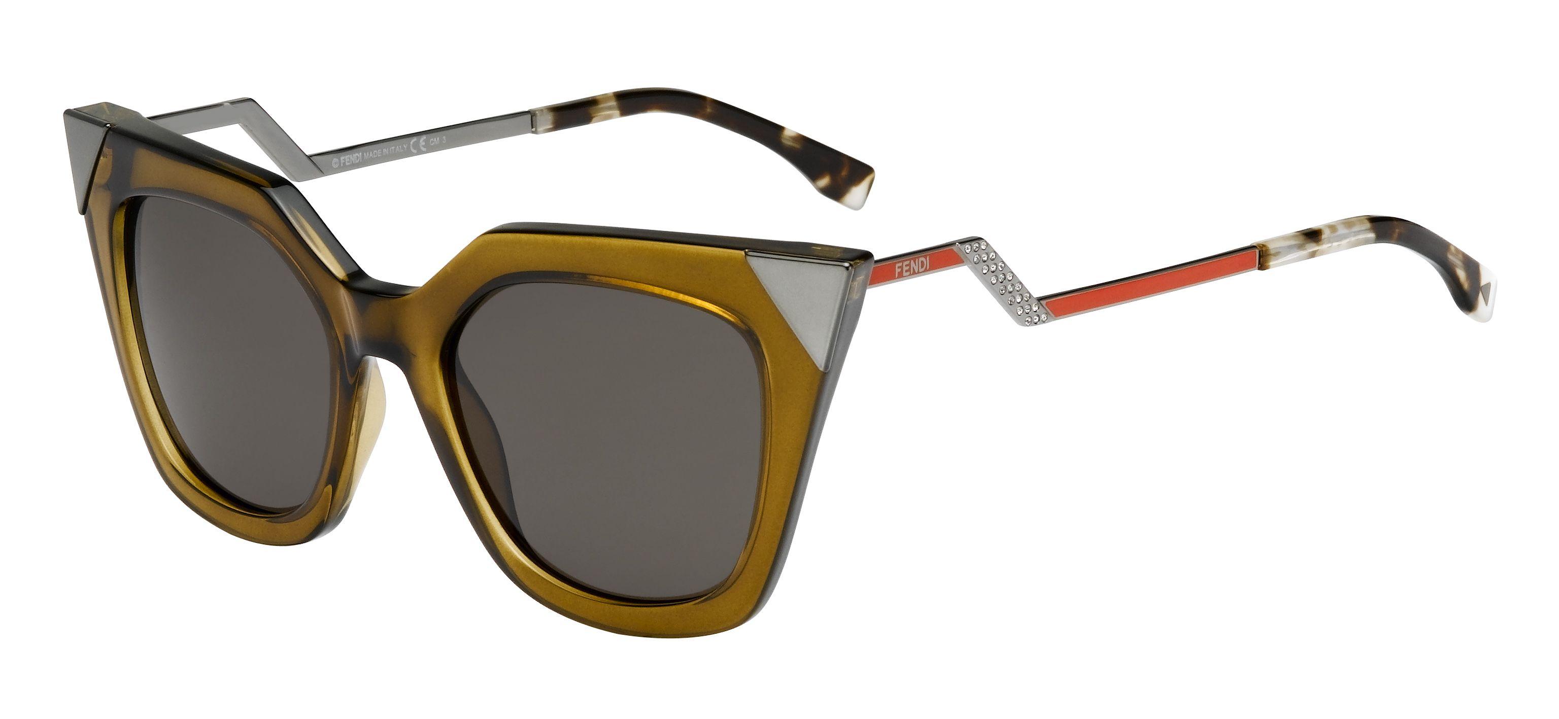 f310ced5203 The Fendi Fall Winter 2014-15 Iridia sunglasses