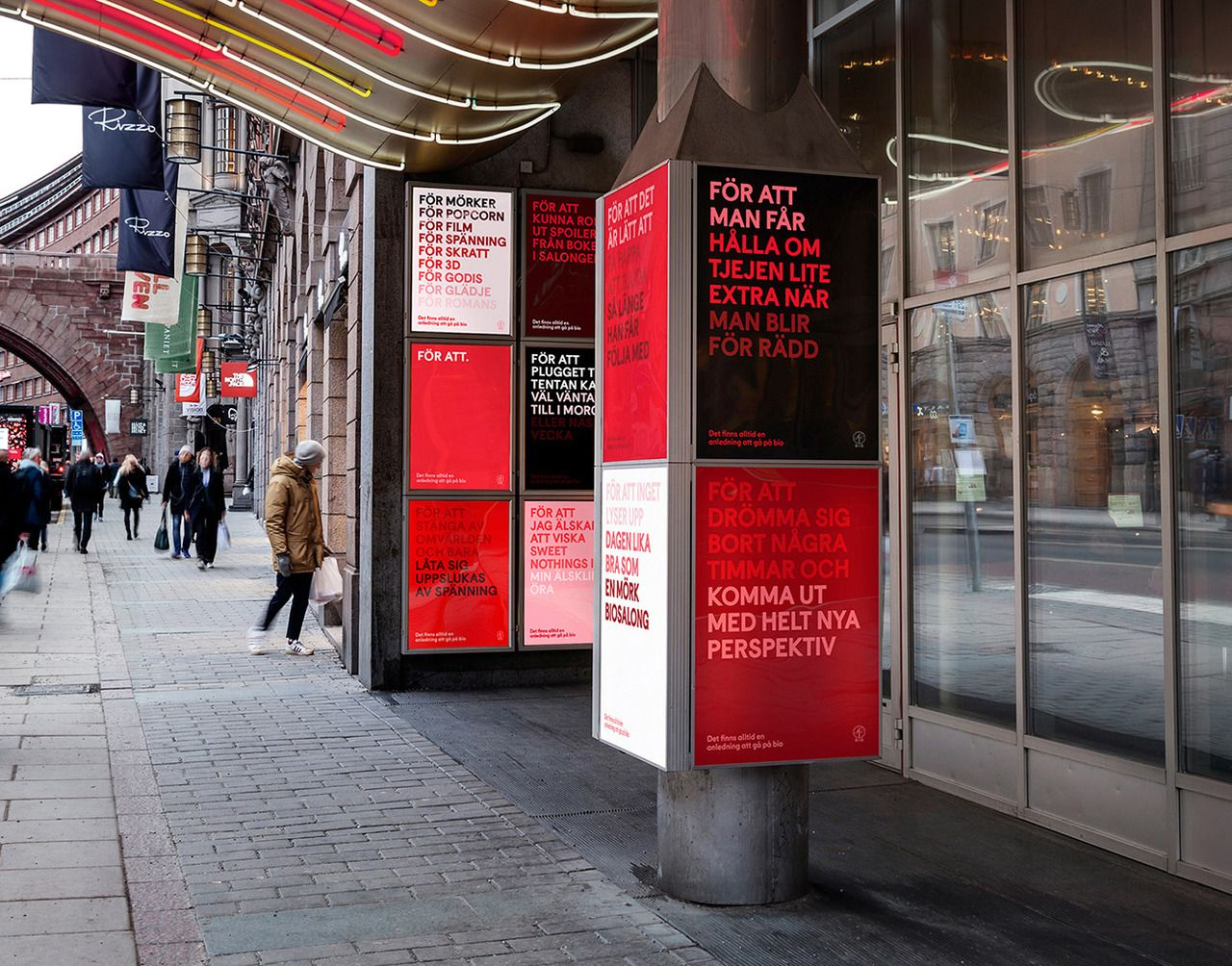 SF Bio Cinema Branding by Söderhavet  http://mindsparklemag.com/design/sf-bio-cinema-branding/