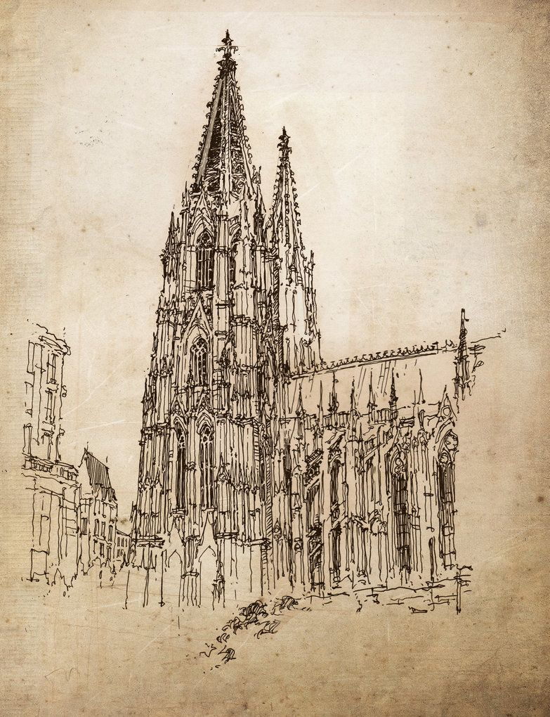 Cologne Cathedral By Pingpong83 Obrazek