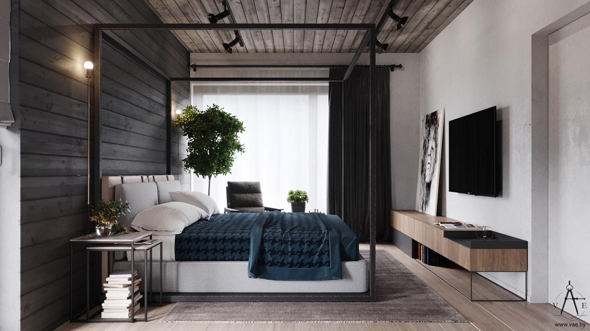 Delightful This City House In Minsk, Belarus, Is Of Modern Loft Style. Designed By  VAE, The Interior Is Decked Out With Metal And Concrete Industrial Features,  Softe Home Design Ideas