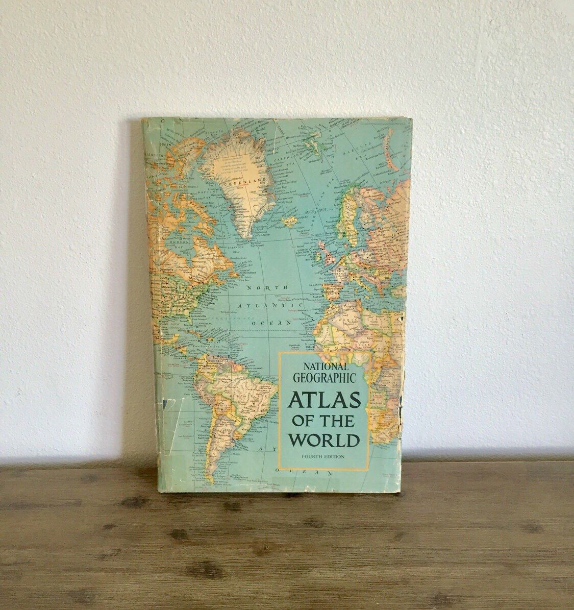 National geographic atlas of the world 1975 4th edition vintage national geographic atlas of the world 1975 4th edition vintage world atlas old maps diy map decoupage book world atlas book gumiabroncs Gallery