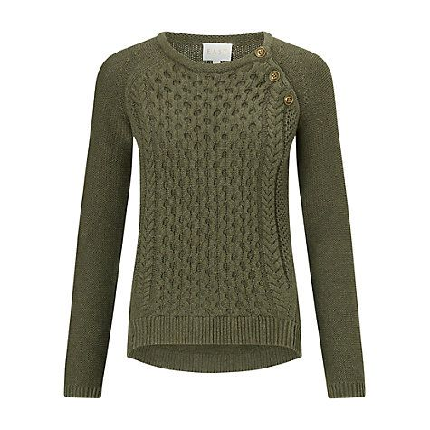 Update your knitwear collection and add a touch of texture to your wardrobe  with this lovely cable knit jumper from East at John Lewis in a rich  autumnal ...