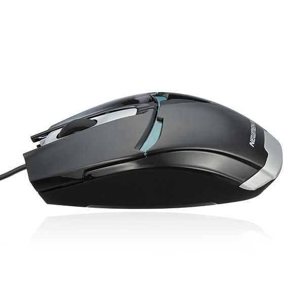 Newmen 1000dpi Wired Gaming Usb Optical Mouse With Blue Led Light Computer Peripherals From Computer Networking On Banggood Com
