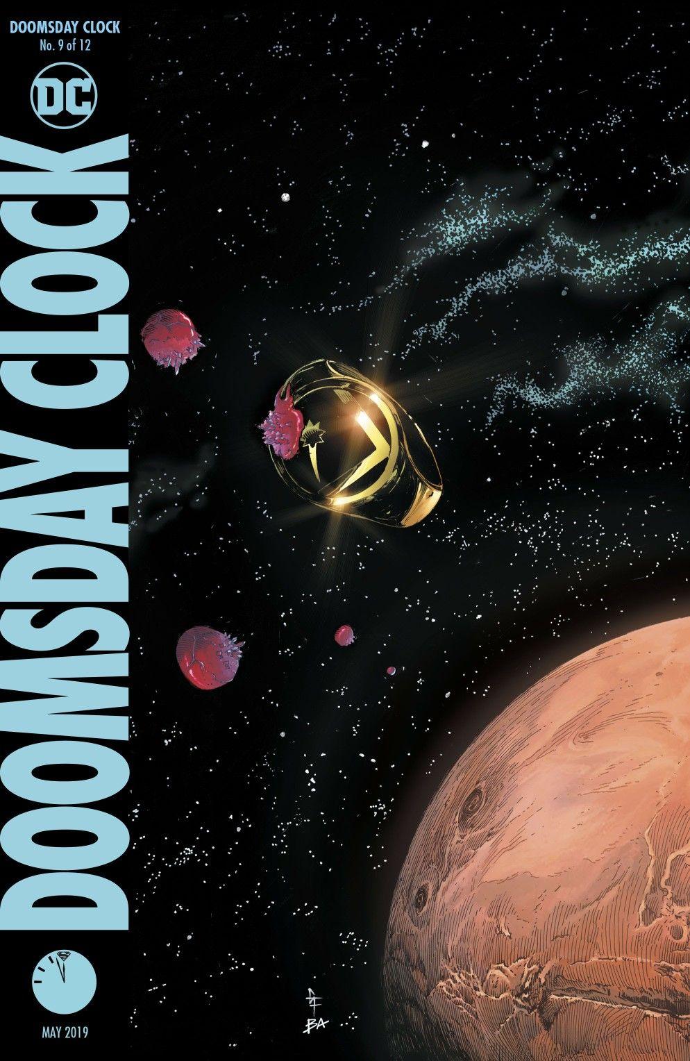 Doomsday Clock 9 In 2020 Doomsday Clock Doomsday Comic Reviews