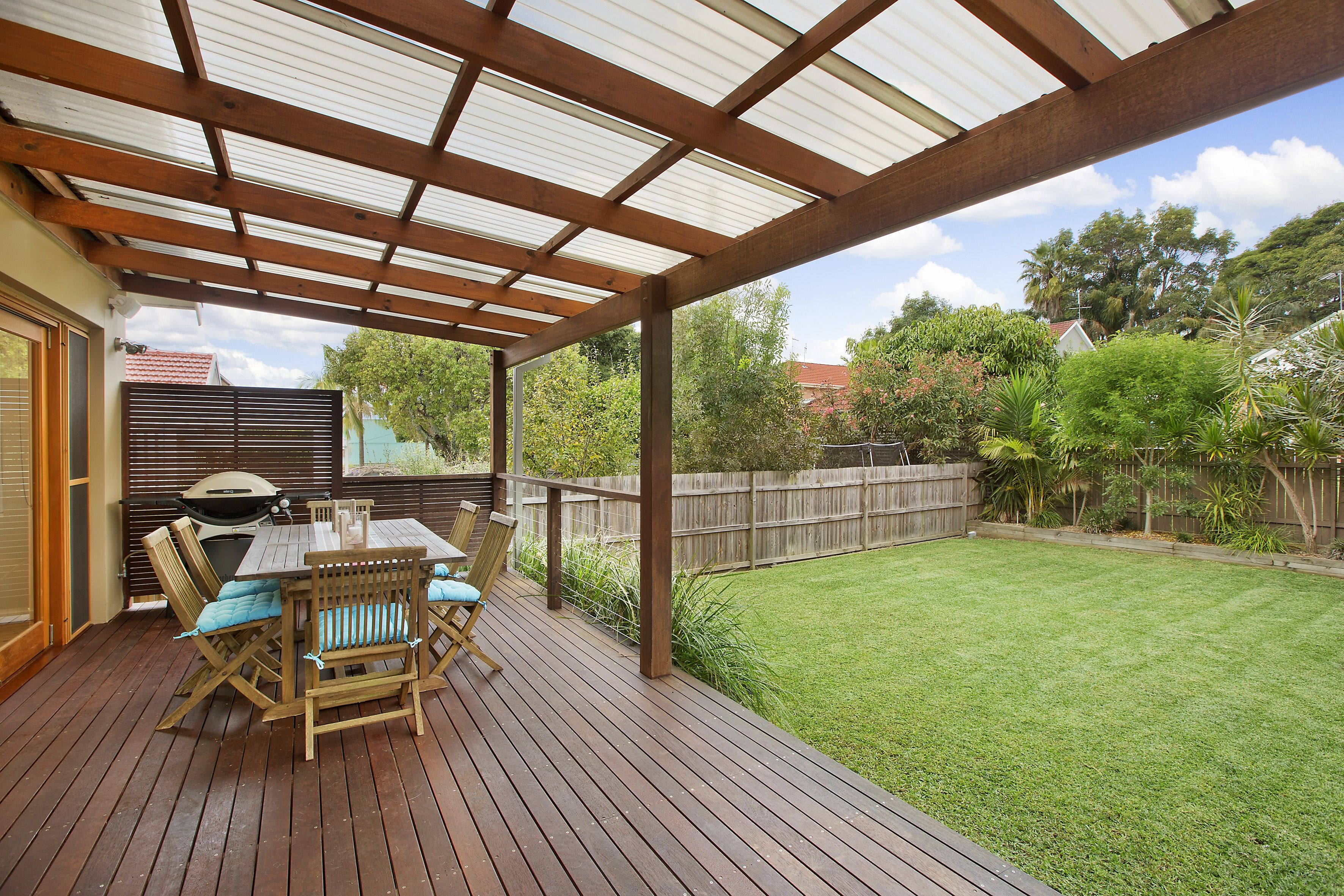 Decking With Roof Patio Deck Designs Patio Design Decks Backyard