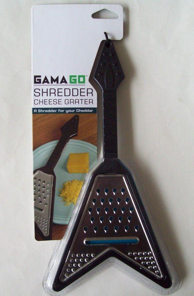 Gamago V Guitar Shaped Shredder Cheese Grater Kitchen Utensil Novelty Gag Gift #Gamago