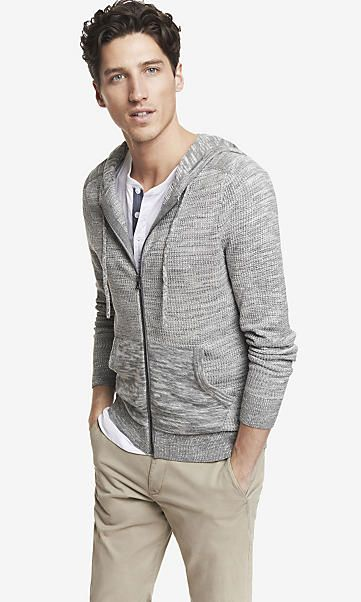MARLED HOODED ZIP FRONT CARDIGAN | Fashion {his} | Pinterest