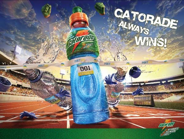 Gatorade Always Wins 3 30+ Creative Examples of Beverage ...