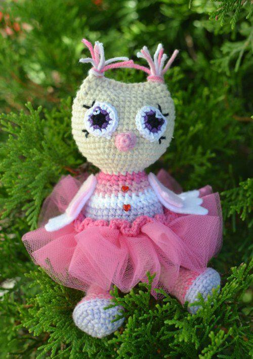 Owl princess amigurumi pattern | ami pas | Pinterest | Muñecas