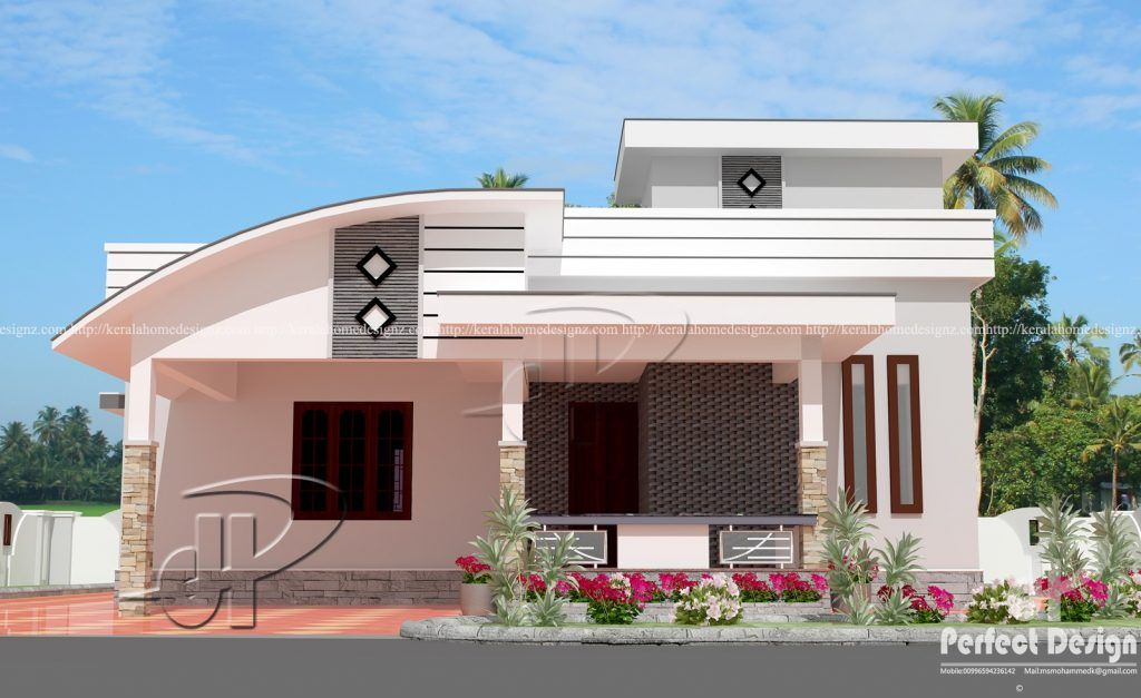 25 One Story Houses With Attractive Design With Layout Trending House Ofw Info S In 2020 House Plans Small House Elevation Indian House Plans