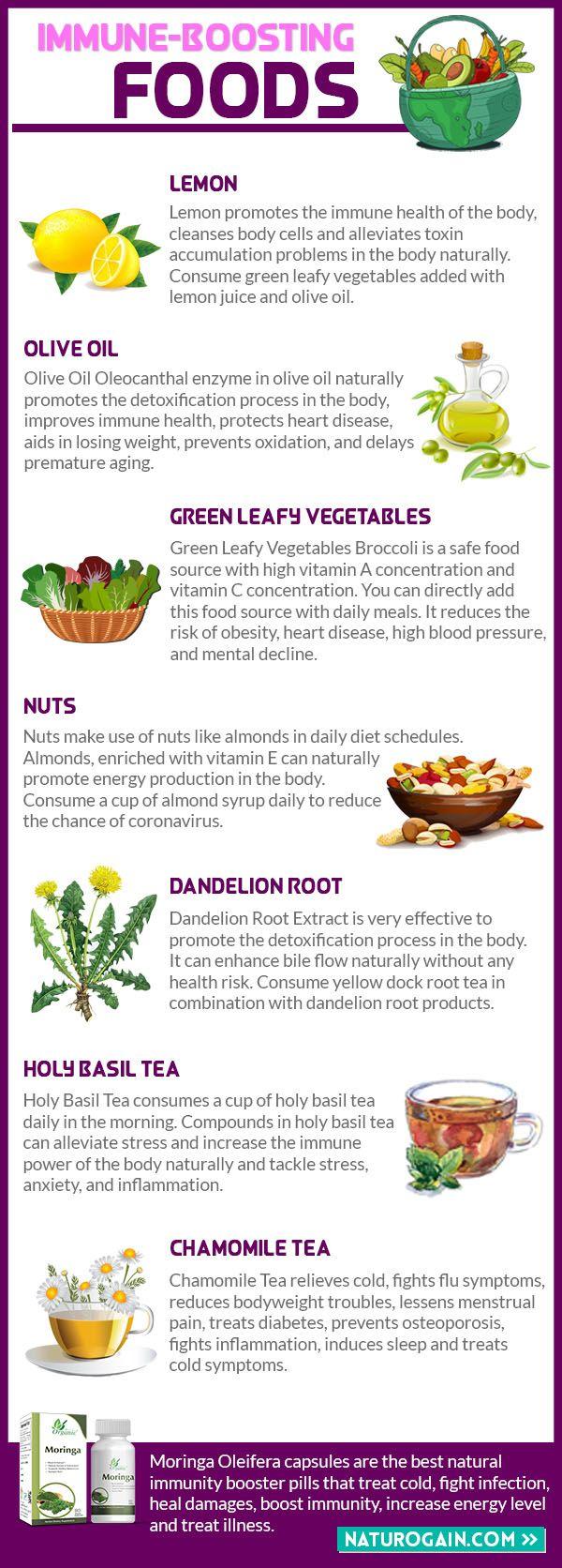 Moringa Oleifera Capsules in 2020 Immune boosting foods