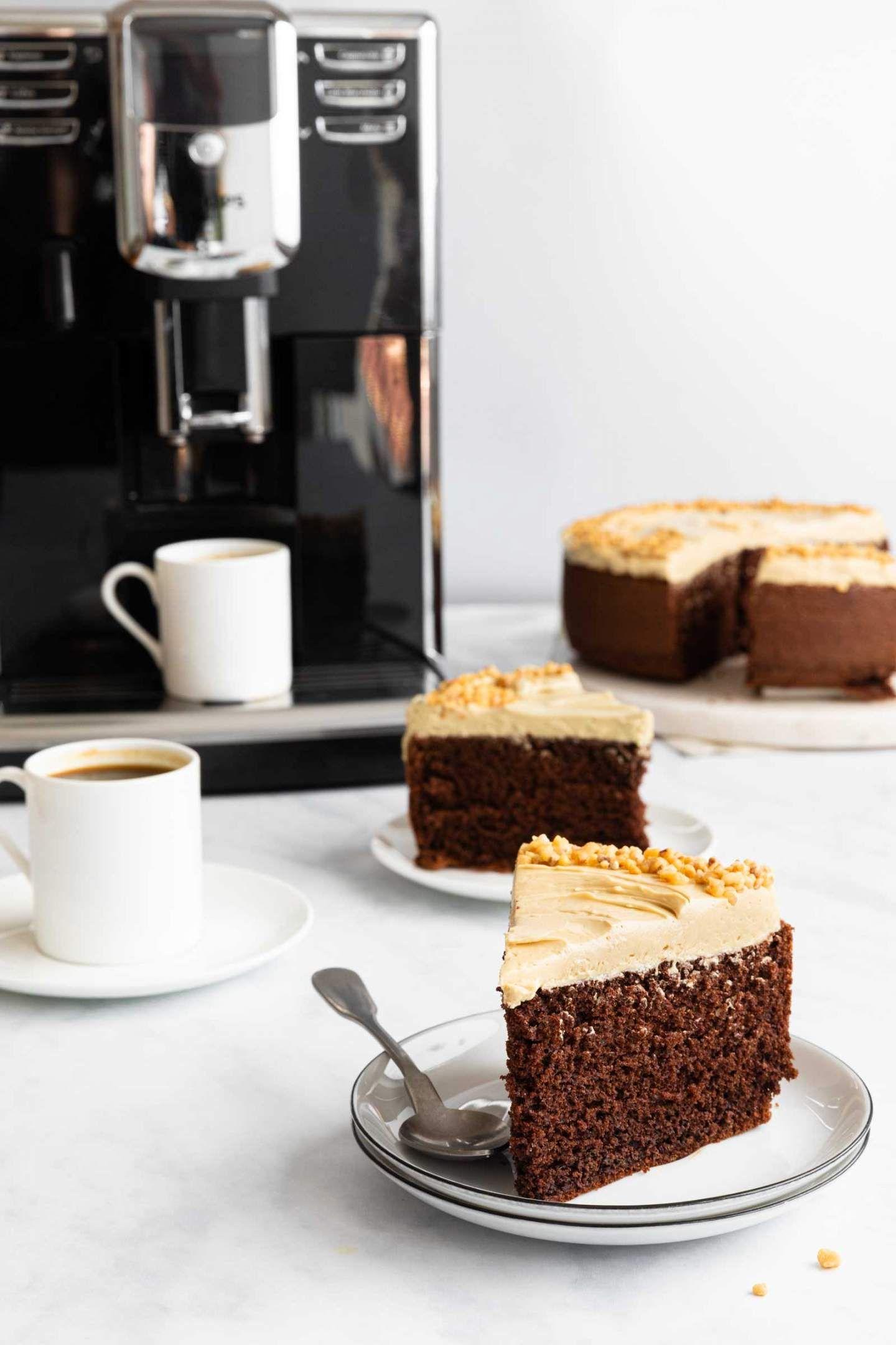 Simple Espresso Cake Recipe in 2020 Espresso cake