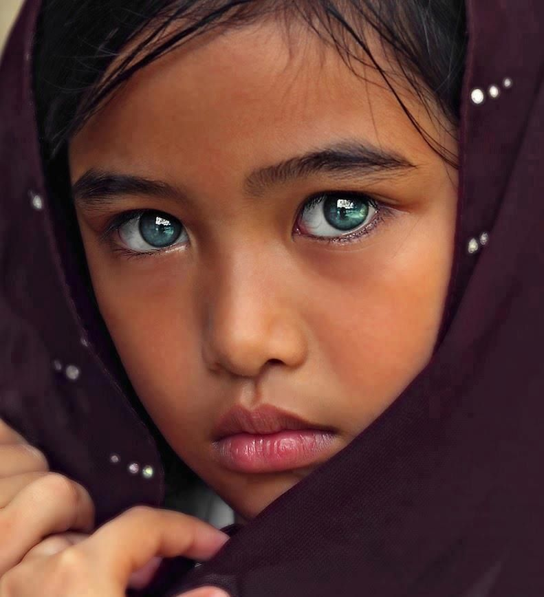 What beautiful eyes