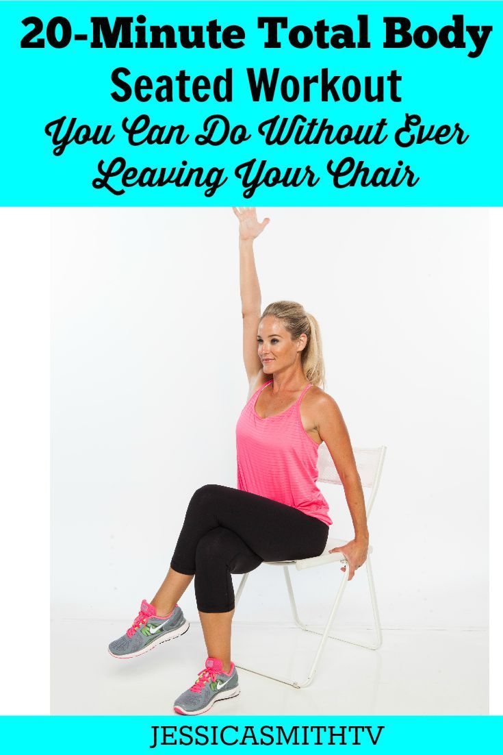 A 20 Minute Total Body Workout You Can Do In Your Chair Senior