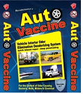Auto Vaccine is a stain remover that is suitable for the car interiors, carpets, & other surface being cleaned. http://www.autovaccine.com/product.php