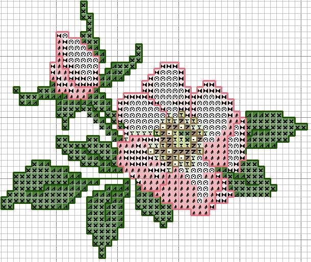 Схемы вышивки бисером скачать бесплатно цветы