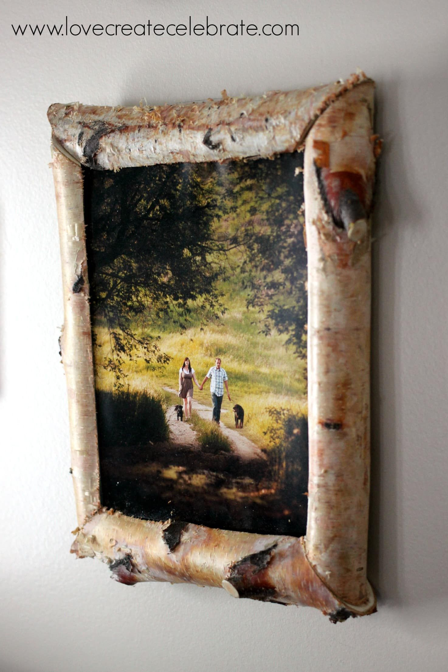 Home Wider Hollow Love Wooden Photo Frame DIY Picture Frame Art Decoration