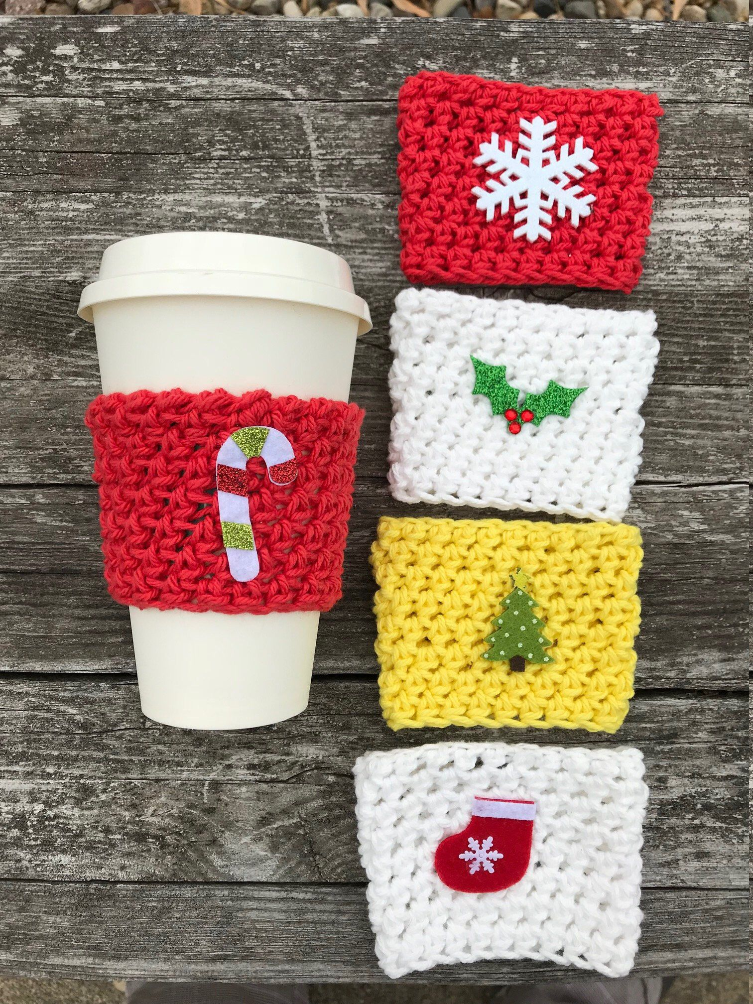 Christmas in July Coffee Sleeve Coffee Cozy Sleeve Coffee Mug