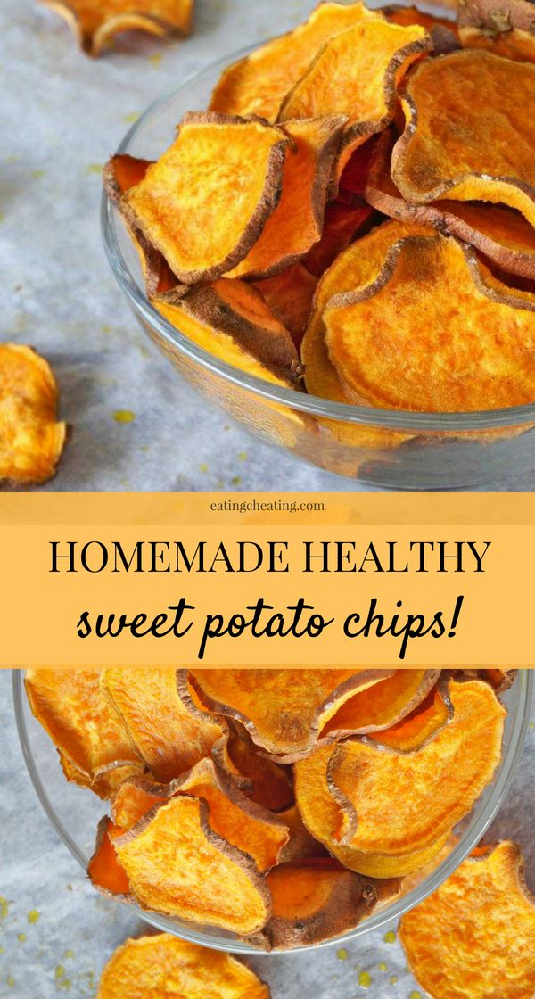Photo of Homemade Sweet Potato Chips