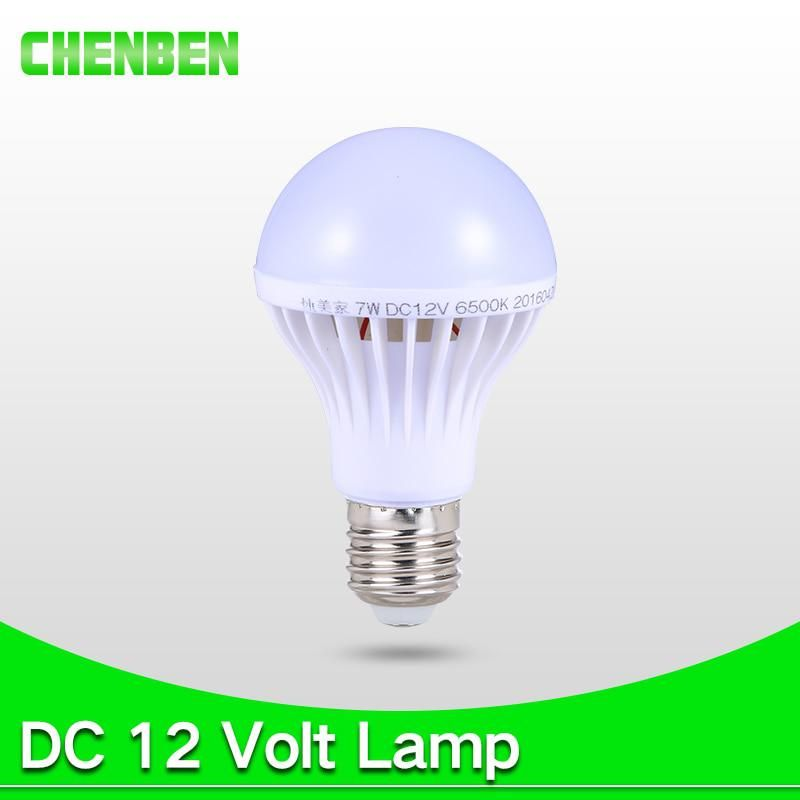 E27 Led Lamp Bulb Bombillas Led Bulbs Dc 12v Smart Home 5w 7w 9w