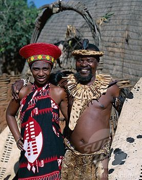 Zulu meaning typical man South African