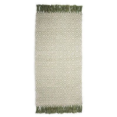 Plow & Hearth Hand-Woven Beige Area Rug Rug Size: