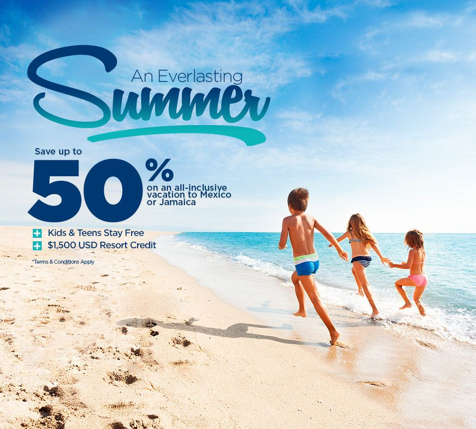 An Everlasting Summer - All Inclusive Resorts Ad