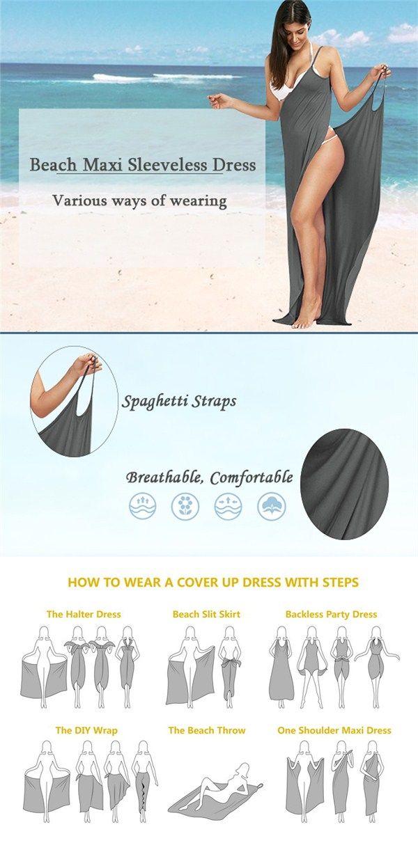 Beach Maxi Wrap Slip Dress | Summer in Spokane | Pinterest ...