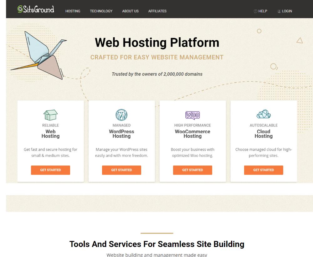 Best Web Hosting 2020 Siteground Hosting Web Hosting Hosting Company