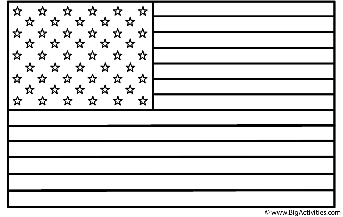 13+ 13 star american flag coloring page free download