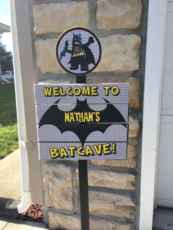 uma família de amigos lego batman
