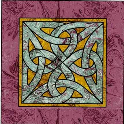 Celtic knot square wall hanging quilt pattern i wanna make this celtic knot square wall hanging quilt pattern fandeluxe Gallery