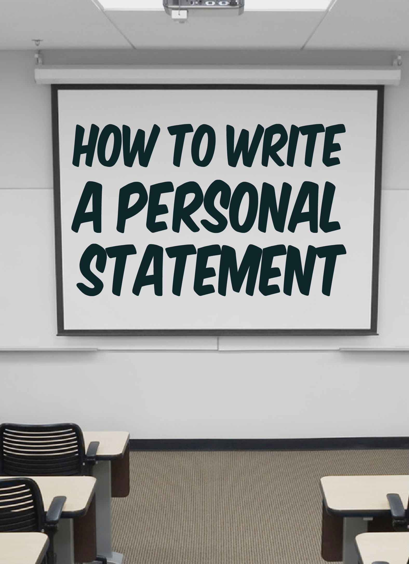 How To Write A Ucas Personal Statement Part 1 Personal Statement Person Writing