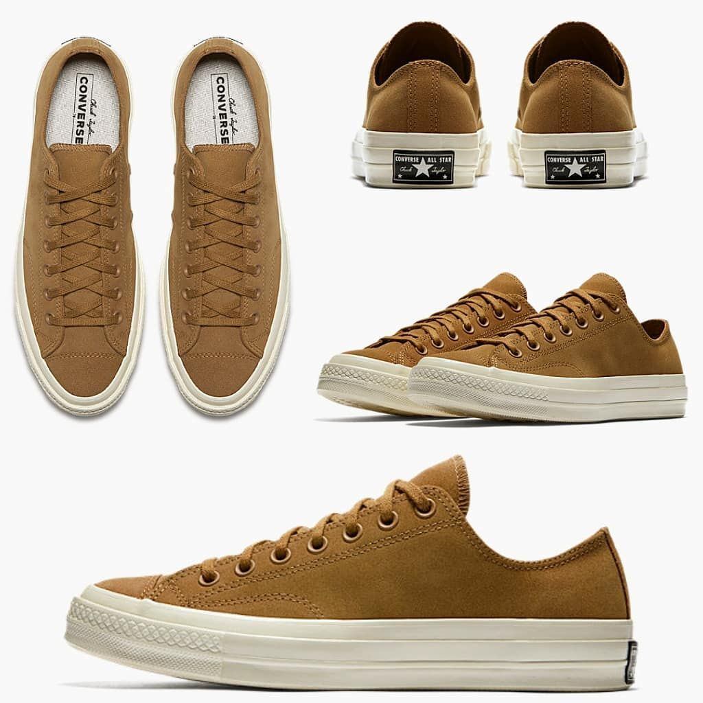 02a598f7f81173 AUGUST 2018 CONVERSE CT OX 1970s EQUINOX CARAMEL - NUBUCK LEATHER ...