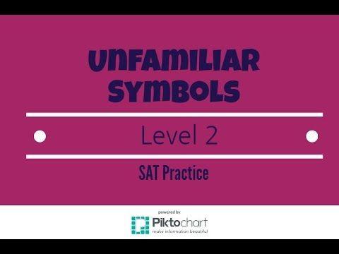 Understanding Unfamiliar Symbols  SAT Math Level 2 Prep - YouTube