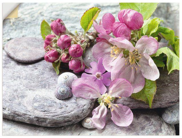Wandfolie »Andrea Haase: Apfelblüten«