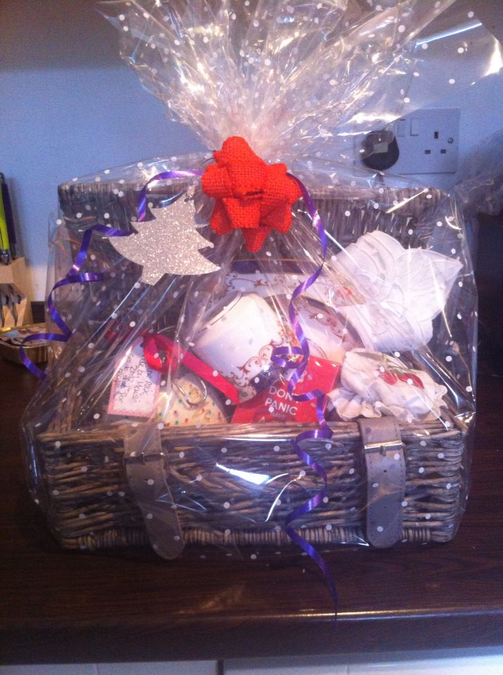 Afternoon Tea Gift Basket Lovely For House Warming Gift Or For Older  Relative. My 11yr