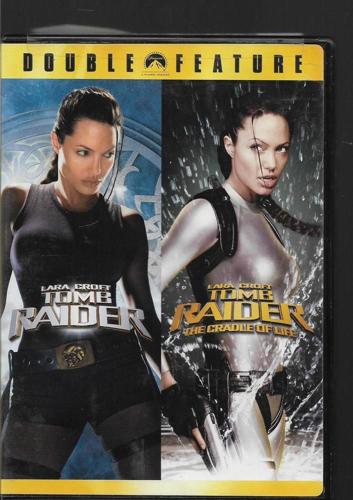 Lara Croft Tomb Raider 1 And 2 Angelina Jolie 2dvds Tomb Raider